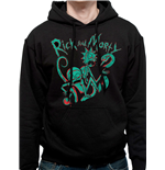 Rick And Morty Sweatshirt - Design: Neon