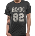 AC/DC T-Shirt - Design: 82 College