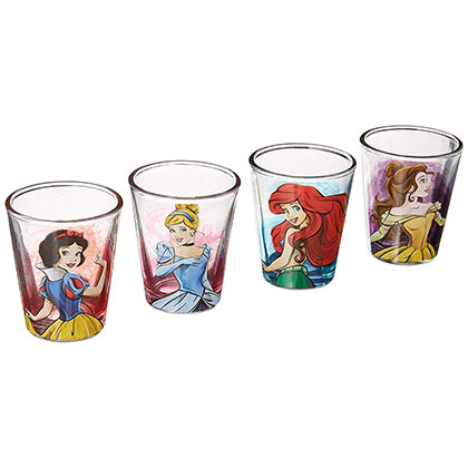 Disney Prinzessinnen Glas