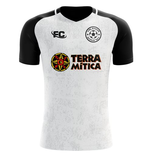 Valencia T-Shirt 2018-2019 Home