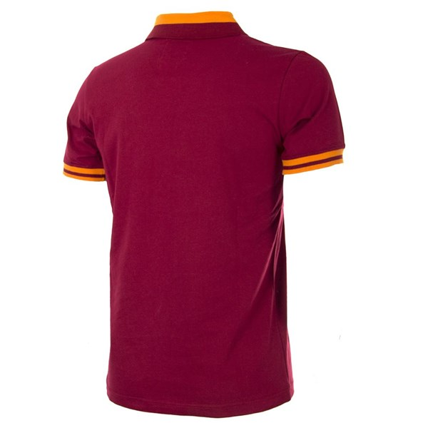 AS Roma 1978 - 79 Kurzärmliges Retro-Fußballtrikot