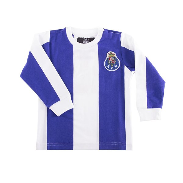 Vintage Trikot Porto 'My First Football Shirt' mit langen Ärmel