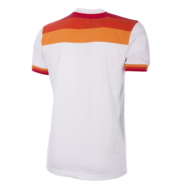 AS Roma 1964 - 65  Away Fussball Shirt Retro mit kurzen Ärmel