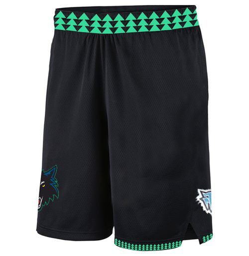 Minnesota Timberwolves Swingman Shorts Classic Edition