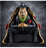 One Piece Excellent Model P.O.P S.O.C PVC Statue 1/8 Capone Gang Bege 14 cm