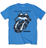 The Rolling Stones T-Shirt für Männer - Design: Steel Wheels