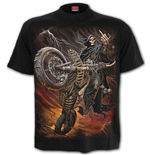 T-Shirt Spiral Bike Life - T-Shirt Black