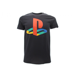 T-Shirt PlayStation Logo bunt