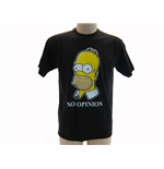 T-Shirt Die Simpsons  - No Opinion