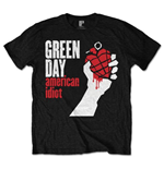 Green Day T-Shirt für Männer - Design: American Idiot