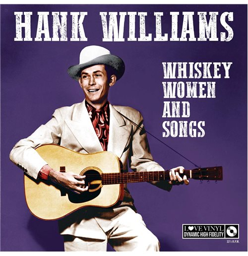 Vinyl Hank Williams - Whisky Women And Songs