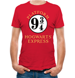 Harry Potter T-Shirt - Design: 9 And 3 Quarters
