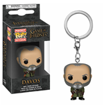 Game of Thrones Pocket POP! Vinyl Schlüsselanhänger Davos 4 cm