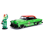 DC Bombshells Diecast Modell Hollywood Rides 1/24 1953 Chevy Bel Air Hard Top mit Poison Ivy Figur