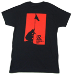 U2 T-Shirt unisex - Design: Blood Red Sky