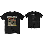 Guns N' Roses T-Shirt unisex - Design: Lies Track List