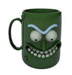 Rick and Morty 3D Tasse Pickle Rick