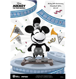 Micky Maus 90th Anniversary Mini Egg Attack Figur Steamboat Willie 9 cm