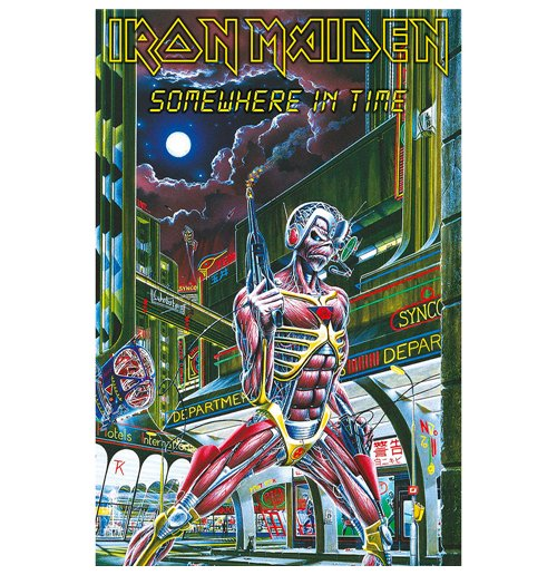 Iron Maiden Poster - Design: Somewhere In Time
