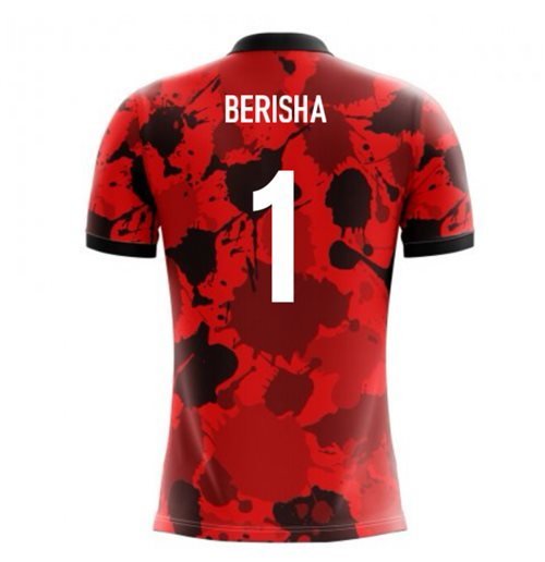 Albanien Fussball T-Shirt 2018-2019 Home