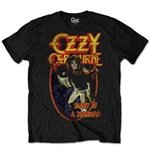 Ozzy Osbourne T-Shirt unisex - Design: Diary of a Mad Man