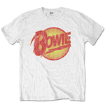 David Bowie  T-Shirt unisex - Design: Vintage Diamond Dogs Logo