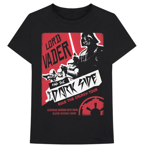 Star Wars T-Shirt unisex - Design: Darth Rock Two