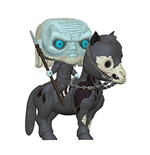 Game of Thrones POP! Rides Vinyl Figur White Walker on Horse 15 cm