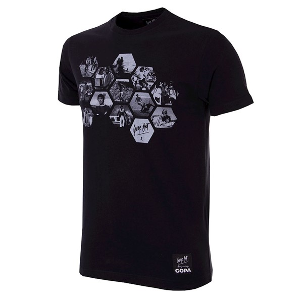 T-Shirt George Best Hexagon