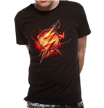 Justice League Movie T-Shirt - Design: Flash Symbol
