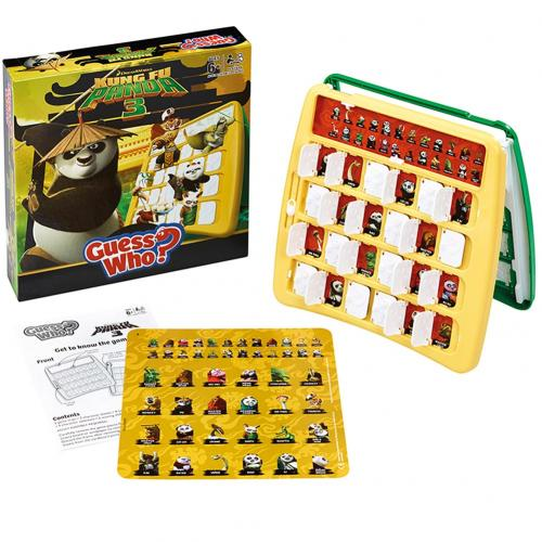 Brettspiel Kung Fu Panda 3 Edition Guess Who
