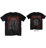Slayer T-Shirt unisex - Design: Baphomet European Tour 2018