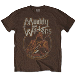 Muddy Waters T-Shirt unisex - Design: Father of Chicago Blues