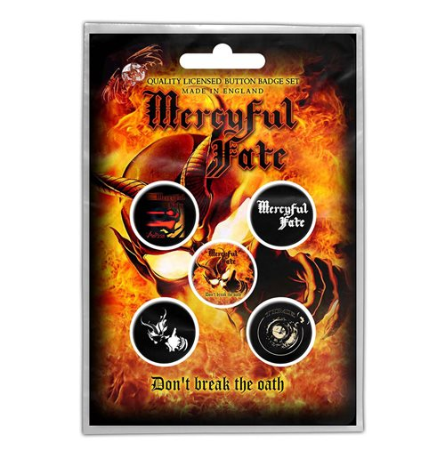 Mercyful Fate  Brosche - Design: Don't Break the Oath