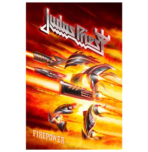 Judas Priest Poster - Design: Firepower