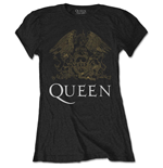 Queen T-Shirt für Frauen - Design: Crest