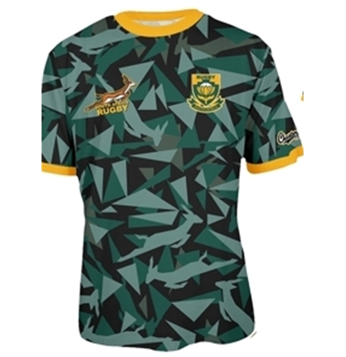 T-Shirt Südafrika Rugby Triangle