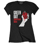 Green Day T-Shirt für Frauen - Design: American Idiot