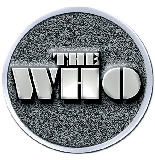 The Who  Brosche - Design: Stencil