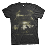 Metallica T-Shirt unisex - Design: Master of Puppets Distressed