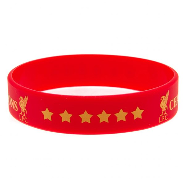 Armband Liverpool FC  Champions Of Europe Silicone