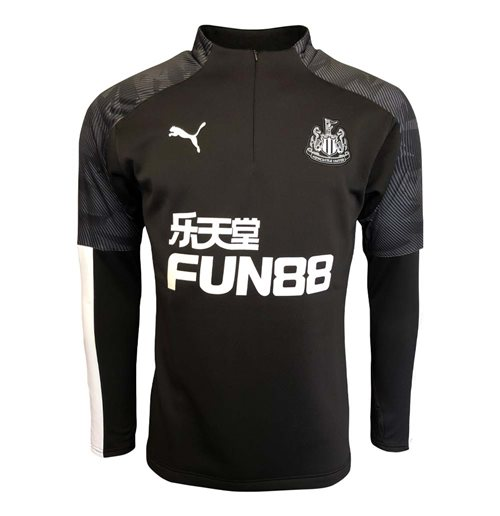 Newcastle United Sweatshirt 2019-2020 (Schwarz)