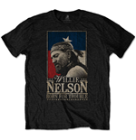 Willie Nelson  T-Shirt unisex - Design: Born For Trouble