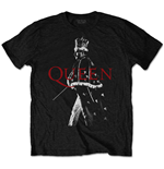 Queen T-Shirt unisex - Design: Freddie Crown