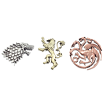 Game of Thrones Ansteck-Pin 3er-Pack House Crests