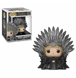 Game of Thrones POP! Deluxe Vinyl Figur Cersei Lannister on Iron Throne 15 cm