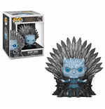 Game of Thrones POP! Deluxe Vinyl Figur Night King on Iron Throne 15 cm