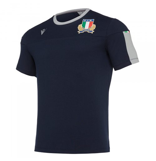 Italien Rugby T-Shirt 2019-2020