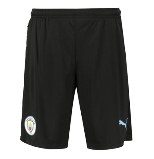 Manchester City FC Shorts 2019-2020 (Schwarz)