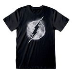 T-Shirt The Flash Distressed Mono Logo